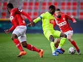 KAA Gent kon geen punten pakken op het veld van Standard