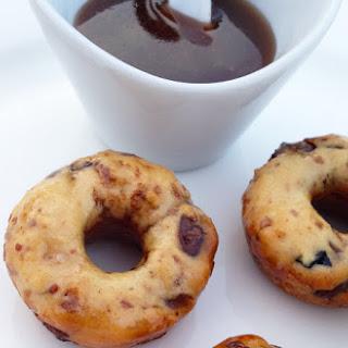 Mini Chocolate Chip Pretzel Donuts