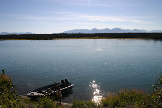 Photo: Take a break at the bottom of Rainbow Alley on the middle Kenai river.