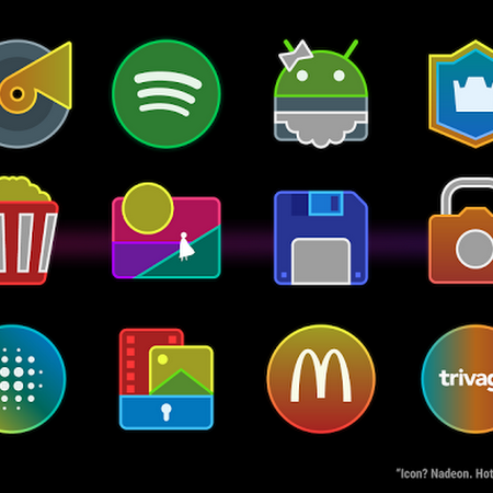 Nadeon - A Neon Icon Pack v1.06 [Patched]