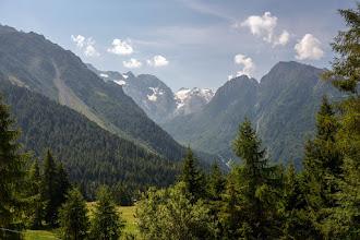 Photo: Taki alpejski widoczek.