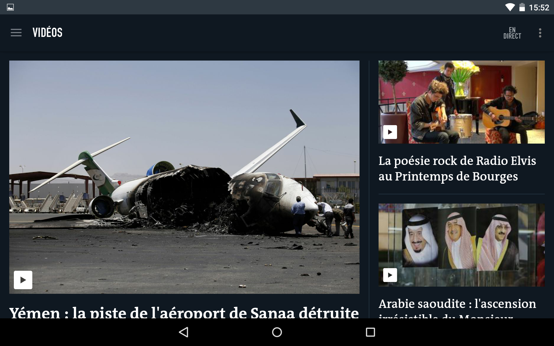 Le Monde, l'info en continu screenshot #21