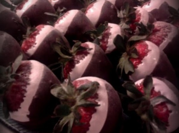 Amy's Chocolate Covered, Homemade Marshmallow Dipped Strawberries! Recipe