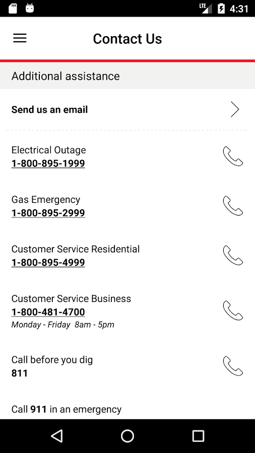 Xcel Energy- screenshot