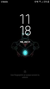 Iron Man Live Wallpaper Screenshot