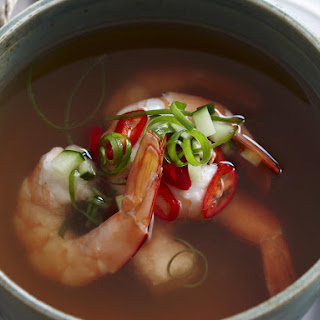 Chilled Tomato Consomme.