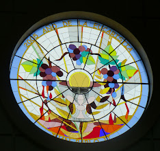 Photo: Stained glass window in the cathedral