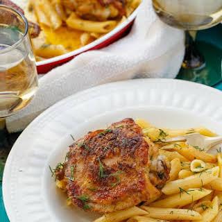 Lemon-Dill Chicken Pasta.