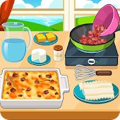 Beef taco lasagna cooking game