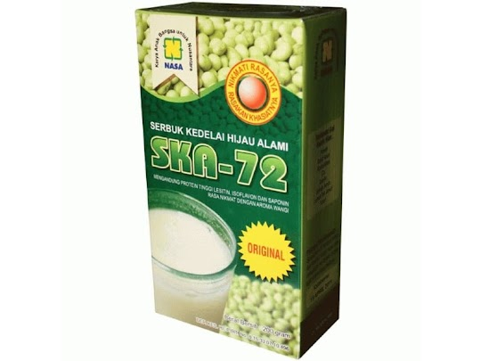 NASA SKA Minuman Susu Kedelai Serbuk Kedelai Organik Original asli Nasa SKA 72 minuman nutrisi tubuh menyehatkan paru jantung hati