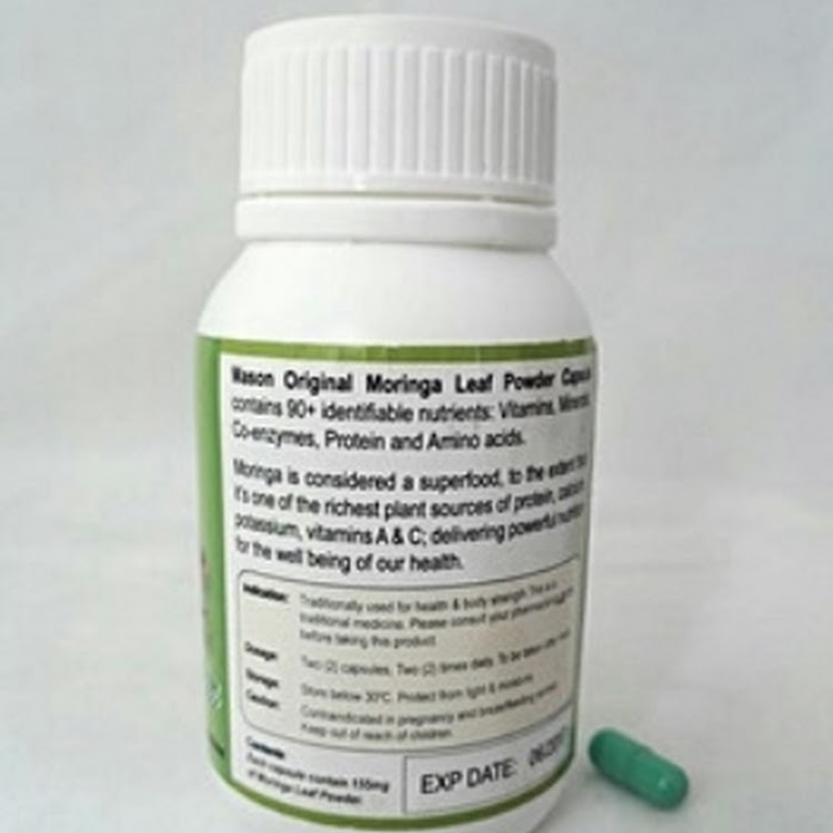 Mason Original Moringa Powder Capsule (60Capsules)