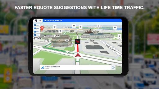 GPS Navigation: GPS Route, Live Maps & Street View 1.1.1 screenshots 2