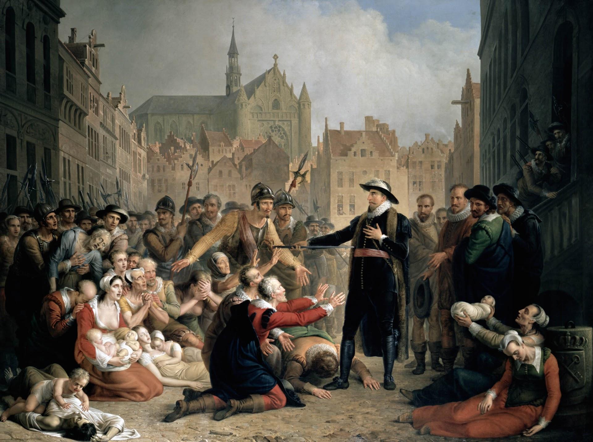 De zelfopoffering van Burgemeester Pieter van der Werf