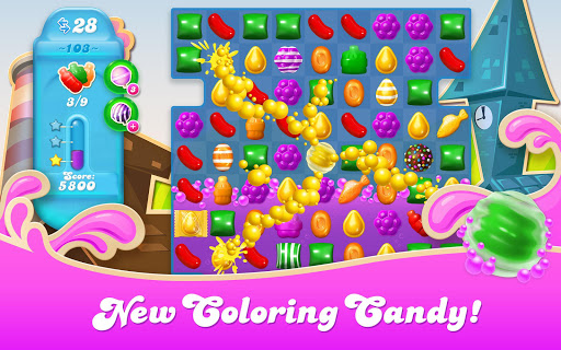 Candy Crush Soda Saga game (apk) free download for Android/PC/Windows screenshot