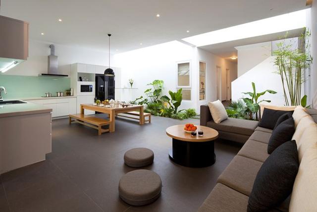 Dosis arquitectura atractivo jard n interior en hogar - Casas con jardin interior ...