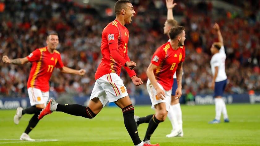 Inglaterra 1 - 2 España