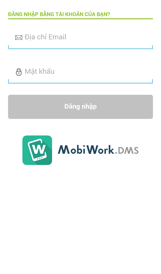 MobiWork.DMS- screenshot