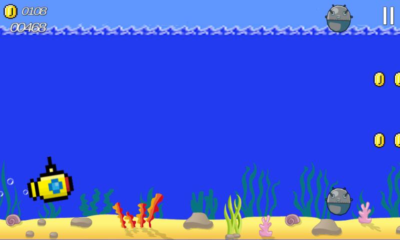 Submarine Run Chaos - στιγμιότυπο οθόνης