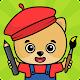Fargelegging og tegning for barn