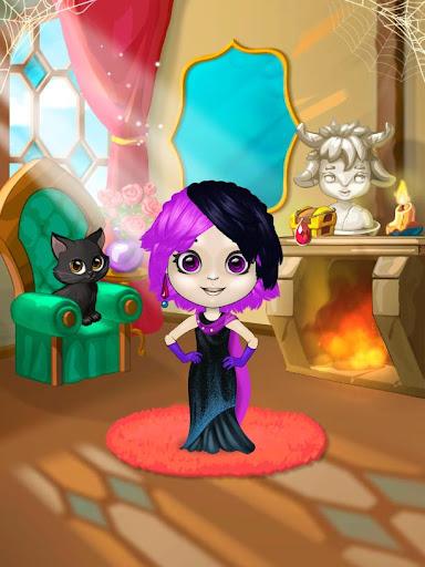 hair salon : monsters screenshot 2