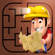Diggy's Adventure: Escape this 2D Mine Maze Puzzle