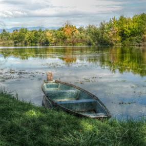 Boat by Dunja Dretvić - Landscapes Waterscapes