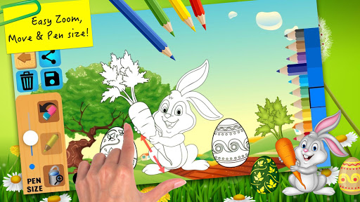 Easter bunny egg coloring book 1.06 screenshots 3