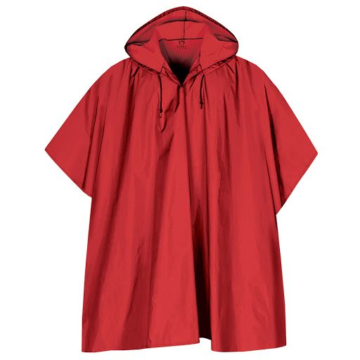 Stormtech Packable Rain Poncho (Red)