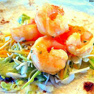 Tequila Honey Lime Shrimp Tacos