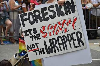 Photo: Foreskin: It's The CANDY, not the wrapper.