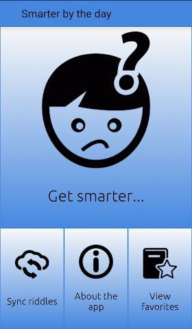 android Smarter by the day Screenshot 1