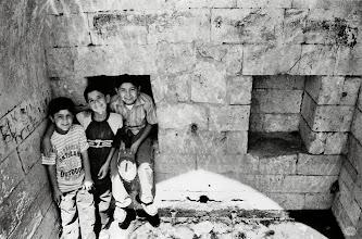Photo: Boys at Kanîya Spî spring in Farqîn (Silvan in Turkish), 2007
