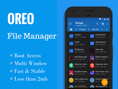 Oreo File Manager Pro [Root] - 50% OFF Screenshot
