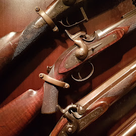 Rifles 1800's by Anthony Zaremba - Artistic Objects Antiques ( old, guns, historic, war, antiques )