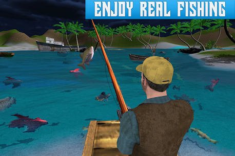 Boat Fishing Simulator: Salmon Wild Fish Hunting 3