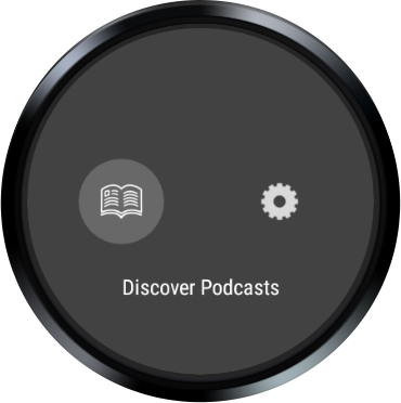 Wear Casts: A podcast player for WearOS watches screenshots 6