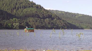 """Photo: """"Csalho beach"""" Békás-tó, Ceahlău község határában"""