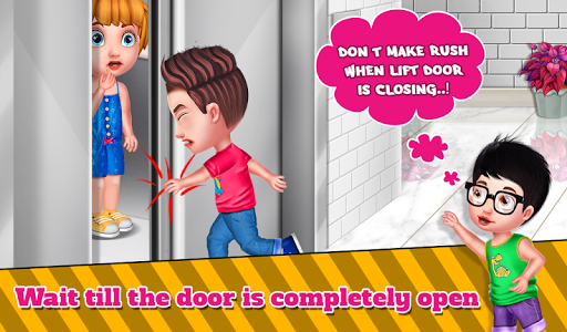 Lift Safety For Kids  screenshots 1