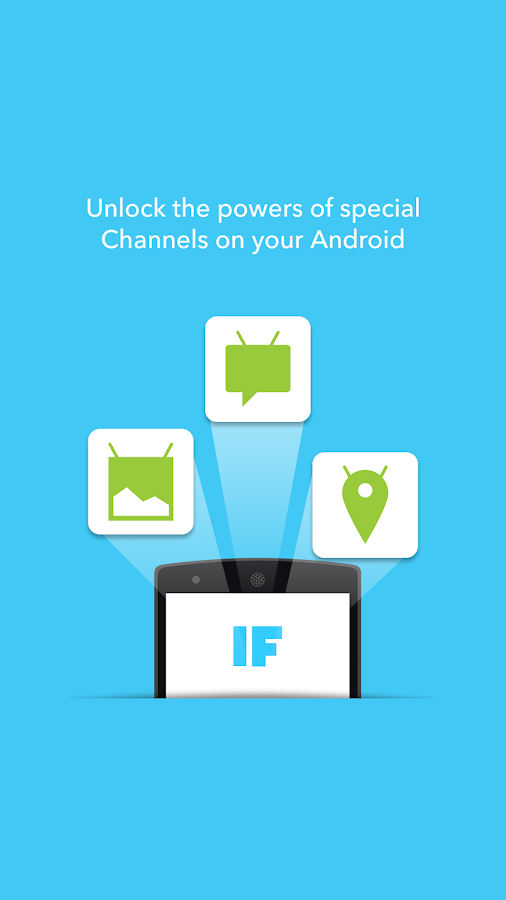IF by IFTTT- screenshot