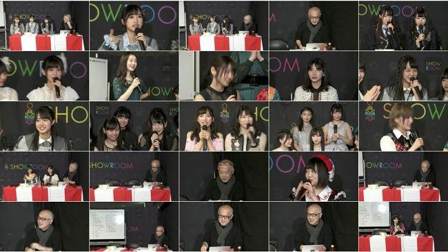181216 (360p) SHOWROOM – AKB48 Kouhaku Taiko Uta Gassen Backstage (Taniguchi Megu, Fukuoka Seina)