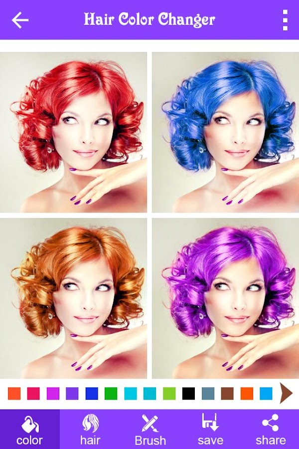 Hair Color Changer - Android Apps on Google Play