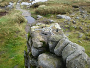 Photo: PW - The top of Great Shunner Fell