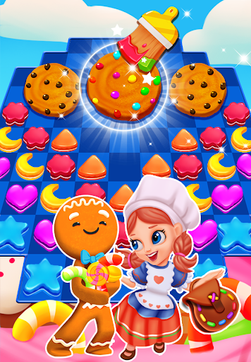 gingerbread cookie crush 1.8 screenshots 1