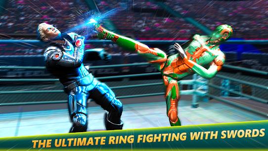 Robot Ring Fighting-Superhero Robot VS Real Robot 1