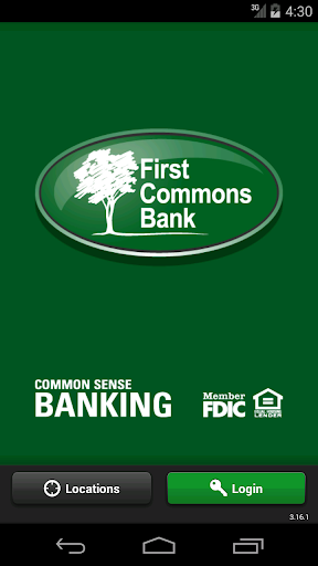 First Commons Bank Mobile App