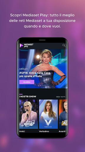 Mediaset Play 5.1.6 screenshots 1