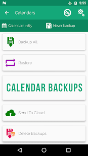 Backup Master: Contact, Apps, SMS, Call Log Backup - náhled