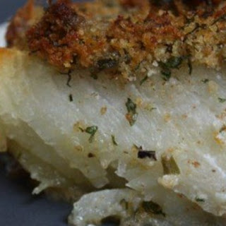 Oven-Baked Cod with Bread Crumbs Recipe