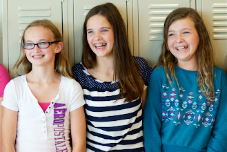 Photo: Cassie, Kylee & Kassie at Sky View Middle School on October 3, 2013.