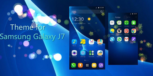 how to get themes for galaxy j7